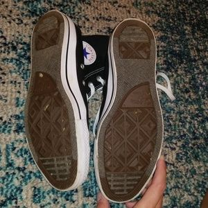 Converse Shoes - Black converse high tops